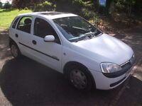 Vauxhall Corsa 1.2 i 16v Comfort 5dr 5 DOOR 5 DOOR 5 DOOR 2001 (Y reg), Hatchback