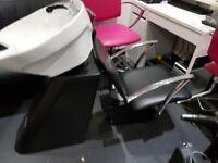 REM salon back wash only £85