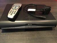 Sky+ HD Box and remote control