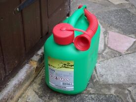 Plastic fuel container 5 litres-New