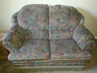 Two two seater sofas