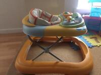 Baby walker n bouncer