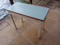 Vintage small Formica kitchen table