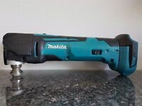 """MAKITA MULTI TOOL DTM51 18v LXT LI-ION""""QUICK RELEASE"""" """"STAR"""" BODY ONLY."""