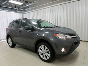 2015 Toyota RAV4 GREAT VALUE LUXURY LIMITED AWD SUV