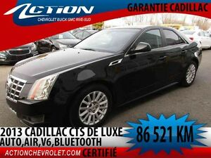 2013 CADILLAC CTS SEDAN AUTO,AIR,V6,BLUETOOTH,DÉMARREUR