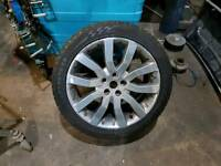 "Range rover sport 20"" alloys and tyres"