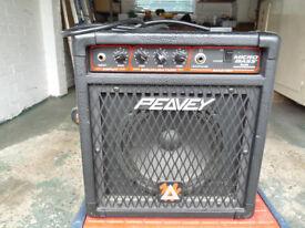 Peavey Micro Bass 50 Watt Guitar Amp for spares or repairs