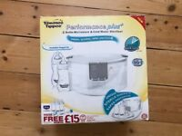 Tommie tipped performance plus 4 bottle microwave and cold water steriliser