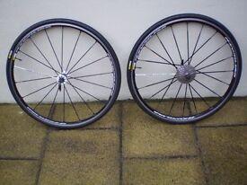 Mavic ksyrium sls wheel set/ shimano 10/11 speed