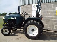 Used Shire 320 compact tractor.