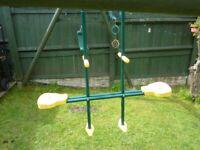 Plum Toys. 2 seat glider swing.