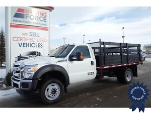 2015 Ford Super Duty F-550 XLT 4x4, 6.8L 10-Cylinder, 15,734 KMs