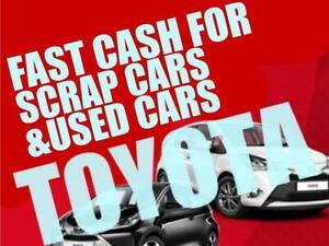 2003-2015 WE PAY $1000 AND UP FOR TOYOTA, COROLLA, CAMRY, MATRIX, SIENNA  WE PAY CASH ON THE SPOT CALL/TEXT 4165296625