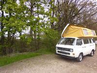 VW type 25 camper van
