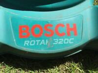 Bosch Rotak 320c electric mower