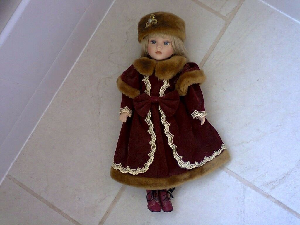 Beautiful collectable doll