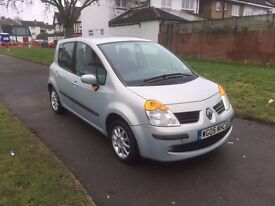Renault Modus 1.6 16v Dynamique 5dr, AUTOMATIC, 2 OWNER,6 MONTHS FREE WARRANTY, FULL SERVICE HISTORY