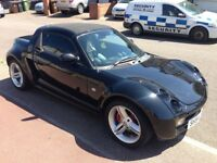 smart roadster targa 0.7 black
