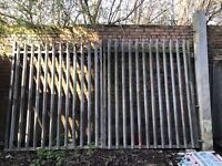 Galvanized Gate (Entrance Gate)