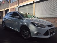 Ford Focus 2013 1.0 SCTi EcoBoost Titanium 5 door 6 MONTHS WARRANTY, FSH, 2 KEYS, BARGAIN