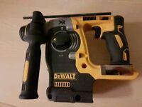 Pre owned Dewalt DCH274 18V XR Brushless SDS+ NO BATTERIES OR CHARGER