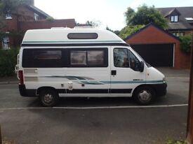 Auto Sleeper Symbol Peugeot Boxer Van with 4 travelling seats