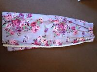 Floral lined curtains from Next. 2pairs available