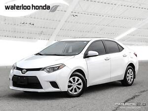 2014 Toyota Corolla CE One Owner. Automatic, A/C and More!
