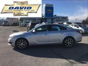 2017 Buick Regal SPRT TOURING FWD,LEATHER,REAR CAM, XM, LOW KM'S