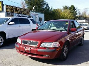 2001 Volvo S40 certified