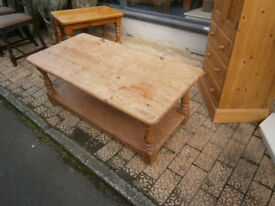 large pine coffee table in yeovil