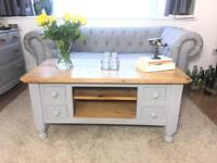SOLID PINE COFFEE TABLE FARMHOUSE FREE DELIVERY 🇬🇧GENUINE