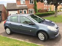 2006 Renault Clio Expression 1.2 Blue, Low mileage.