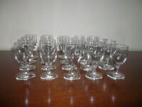 20 Sherry Glasses