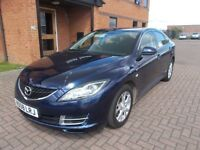 MAZDA 6 TS (08) SERVICE HISTORY, NICE MILES, 2 LOCAL OWNERS,