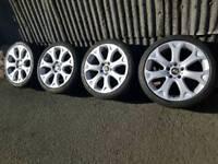 "Genuine 19"" Bmw 5x120 Alloy wheels style 211"