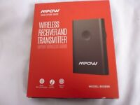 Mpow Bluetooth 5.0 Transmitter Receiver, 2-in-1 Wireless Bluetooth Adapter