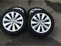 Audi A8 D3 18inch alloy wheels