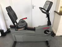 Life Fitness Life Cycle 9500HR Professional Gym Exercise Bike Gym Equipment