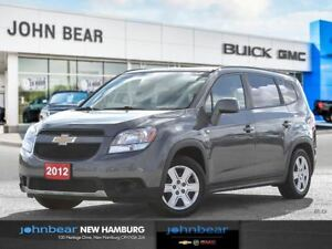 2012 Chevrolet Orlando LT FWD - INCLUDES SNOW TIRES ON RIMS