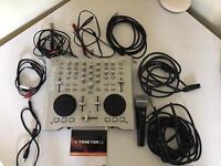 Numark OMNI Control, Shure C606 mic and all leads