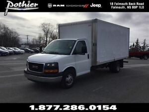 2015 GMC Savana 3500 1WT | CLOTH | BUCKET SEATS | AIR | CUBE |