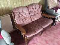 Two seat settee in good condition