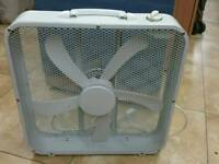 Office fan L52cm W52cm in excellent condition