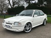 FORD ESCORT RS TURBO SERIES 2 + FSH + CLASSIC + FUTURE INVESTMENT!