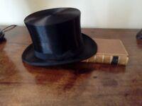 Antique Silk Top Hat in excellent condition.