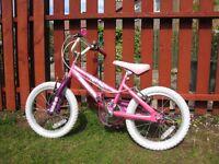 Girls bike - Pink
