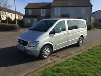 Mercedes-Benz Vito 111 CDI Traveliner (8 Seats) TDI, Long Wheel Base