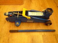 draper 2ton trolley jack. cars vans. motors tools garage workshop. mechanic